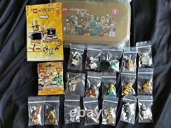 Authentique Lego 71001 Mr Gold Series 10 Figurines Original + Extras All Mint