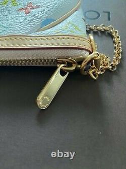 Authentique Louis Vuitton 2012 Pochette Milla MM Sac Crossbody En Cuir Dans La Boîte
