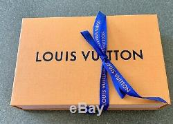 Authentique Louis Vuitton Écharpe Twilly Pour Le Sac Avec La Boîte 48 Pouces Longueur