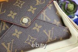 Authentique Louis Vuitton Kirigami Pochette Medium Avec Bande Dorée Crossbody