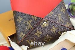 Authentique Louis Vuitton Kirigami Pochette Moyen Avec 2 Paillettes D'or Crossbody