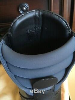 Authentique Louis Vuitton Noir Bottines Neuf Avec Box Taille 9 Très Rare