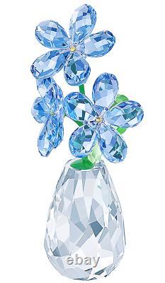 Authentique Nouveau Dans La Boîte Swarovski Flower Dreams Forget Me Not Blue #5254325