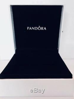 Authentique Pandora Flottant Bijouterie Médaillon Pandora Tag & Hinged Box 792144cz