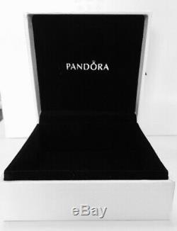 Authentique Pandora Flottant Médaillon Collier Avec Pandora Amour Petite, Tag & Box