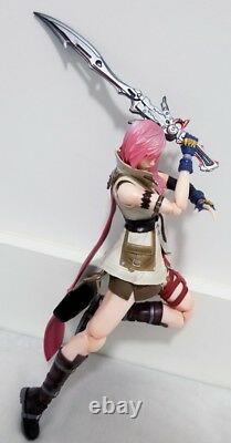 Authentique Play Arts Dissidia Final Fantasy Foudre Action Figure Aucune Boîte