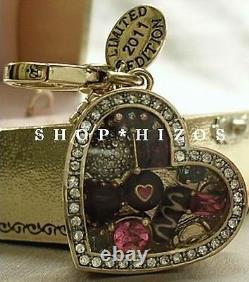 Authentique Rare Juicy Couture Limited Edition 2011 Boîte De Chocolats Charm Nib