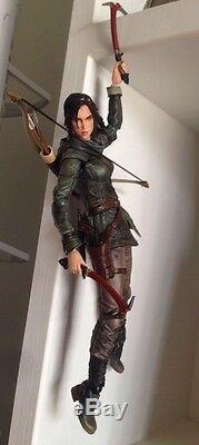 Authentique Square Enix Jouer Tomb Raider Arts Élévation Lara Croft Action Figure Aucune Boîte