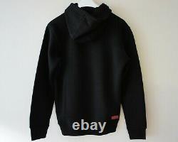 Authentique Supreme Box Logo Black Hoodie Bnwt Supreme Grip Italfigo F/w2020
