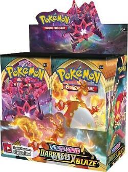 Authentique Swsh Obscurité Ablaze Scellés Box Booster (36 Paquets De Cartes Pokemon)