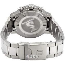 Authentique Tissot Seastar 1000 Chronographe Cadran Noir Montre Homme T1204171105100