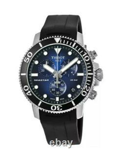 Authentique Tissot Seastar 1000 Chronographe Montre Quartz Suisse Homme T1204171704100