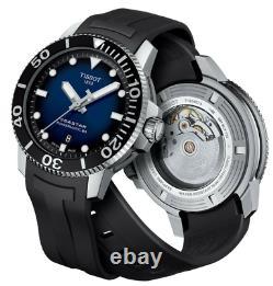 Authentique Tissot Seastar 1000 Powermatic 80 Bleu Cadran Montre Homme T1204071704100