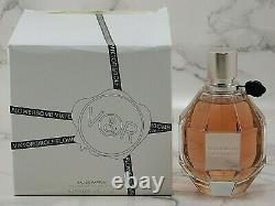 Authentique Viktor & Rolf Flowerbomb 3.4 Oz Eau De Parfum Spray Nouveau Dans La Boîte Blanche