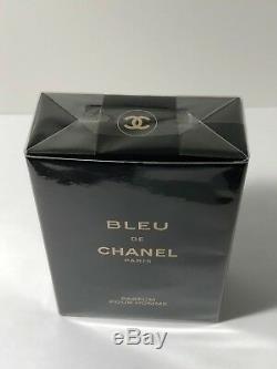 Bleu De Chanel Pure Parfum Pour Homme Spray 1,7 Oz / 50 ML Sealed Box 100% Authentique