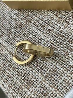 Boucles D'oreilles Dior Clip Authentique Nouveau Sans Boîte