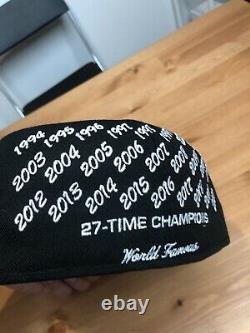 Champions Suprême Box Logo New Era Black Hat 7 3/8 2021 Authentique