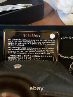 Chanel New In Box 20b Classic Flap Caviar Micro Bag 100% Authentique