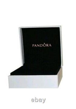 Charme Authentique Pandora Bracelet En Argent Avec Breloques En Or Rose Amour Européens