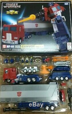Chef-d'œuvre Des Transformateurs Mp-44 Convoi Optimus Prime 3.0 Authentique (nouveau Dans L'encadré)