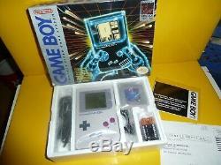 Console Nintendo Gameboy Originale Complète In Box Authentique Near Mint