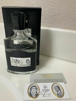 Creed Aventus 3,3 Oz / 100 ML Eau De Parfum Nouveau Avec Boîte & Authentic