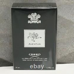 Creed Aventus 50ml 1.7oz Eau De Parfum Pour Hommes Authentique Nouvelle Boîte De Vente Au Détail