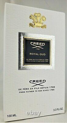 Creed Royal Oud 100ml 20a01 Brand New In Box Livraison Rapide Et Gratuite