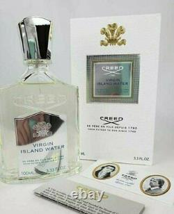 Creed Virgin Island Water 100ml Brand New In Box Livraison Rapide Et Gratuite
