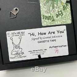 Daniel Johnston Salut, Comment Êtes-vous Cassette Et Signé Assermentée Dans Shadow Box