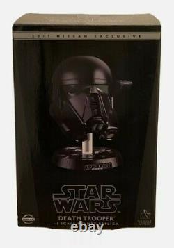 Dans Boxauthentic Star Wars Rogue One Death Trooper Helmetnissangentle Giant