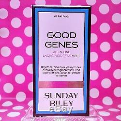 Dimanche Riley Bons Gènes Traitement Acide Lactique Pleine Grandeur 1 Oz Dans La Boîte! Authentique