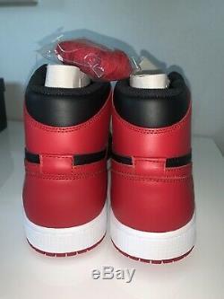 Ds Nike Air Jordan Retro 1 Bred 2013 Haute Og Taille 13 Nouveaux Avec La Boîte Authentique