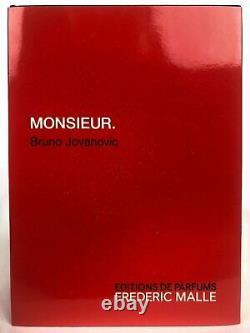 Frederic Malle Monsieur 100ml Edp Authentic, Nouveau Dans La Boîte, Expédié Rapidement