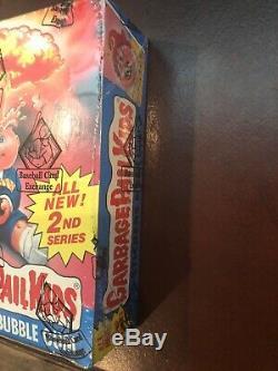 Garbage Pail Kids Gpk Os2 2e Série 2 Full Box Bbce 48 Cire Packs Nouveau Authentique