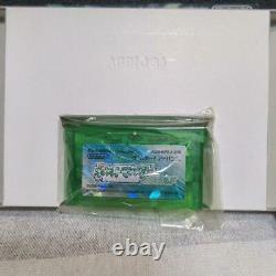 Gba Pokemon Emerald Japonais Game Boy Advance Authentic Withbox Nouvelle Batterie