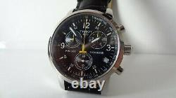 Gents Hommes Tissot Prc200 660ft Withr Chrono New Authentic Boxes Tag List £380