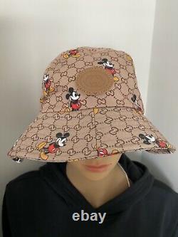 Gucci Disney Hat Withmicky Souris Etat Neuf Authentique No Box Retail 430 $