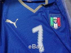 Italie # 7 Del Piero 100% Authentique Joueur D'émission Jersey 2008/09 Accueil XL Bnwt Box