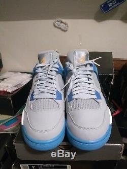Jordan 4 Blue Mist Brand New Ds In Box Taille 9.5 100% Authentique