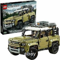 Lego 42110 Technic Land Rover Defender Nouveau Authentic & Misb! Presque Épuisé