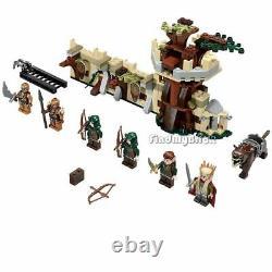 Lego Le Hobbit 79012 Mirkwood Elf Army Factory Set Authentique Marque New Scellé