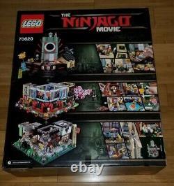 Lego Ninjago City (70620) 4867 Pièces Authentiques, Nouvelles Et Scellées