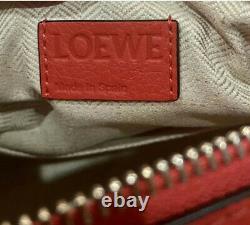 Loewe Petit Puzzle Sac Rouge, Authentifié, Nouveau Avec Dustbag + Facture
