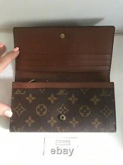 Louis Vuitton Ladies Wallet Purse Authentic New In Box Cadeau Indésirable