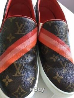 Louis Vuitton Monogram Slip-on Sneakers, Authentique, Comme Neuf Avec Boite Et 2 Sacs