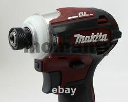 Makita Td172d Impact Driver Td172dzar Authentic Red 18v Body Tool Uniquement Avec Box