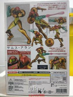 Metroid Prime 3 Figma Authentique M133 Corruption Samus Aran Action Figure In Box