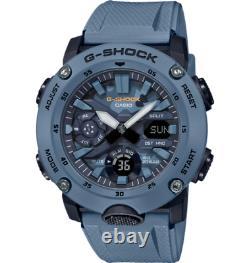 Montre De Camo Bleu G-shock Casio Ana-digi Carbon Core Watch Ga2000su-2a