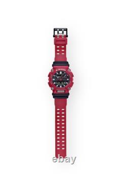 Montre En Résine Rouge Ana-digi Pour Hommes Casio G-shock Authentique Ga900-4a